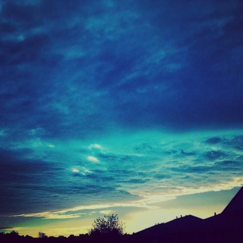sky clouds sunrise square kentucky squareformat owensboro amaro procam iphoneography instagramapp hotizom