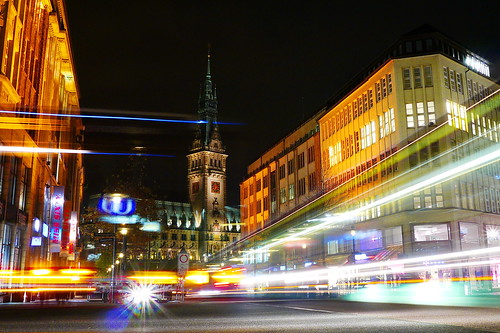 Hamburger Stadtlichter / Hamburg City Lights