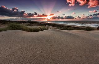 FV Flickr Top 5; 2-31 Eervolle Vermelding: Zonsondergang in het Westduinpark