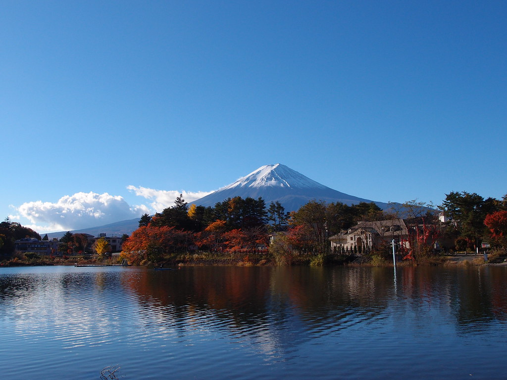 Mount Fuji @ Lake Kawaguchiko