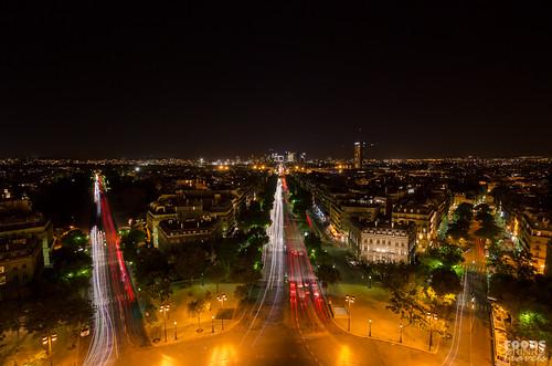 Paris at Night - Arc de Triomphe