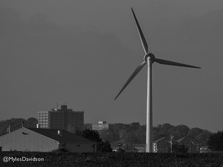 Dartford Marshes Windturbine