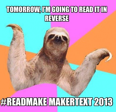#readmake memes