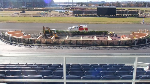 The New #Meadowlands Racetrack Paddock