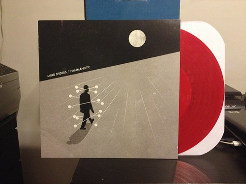 Mind Spiders - Inhumanistic - Red Vinyl (/300) by Tim PopKid