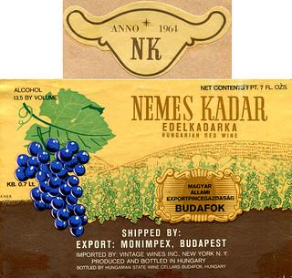 Hungary - Nemes Kadar 1964