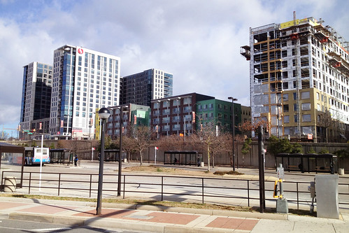 New Apartments Seen From Wheaton Metro
