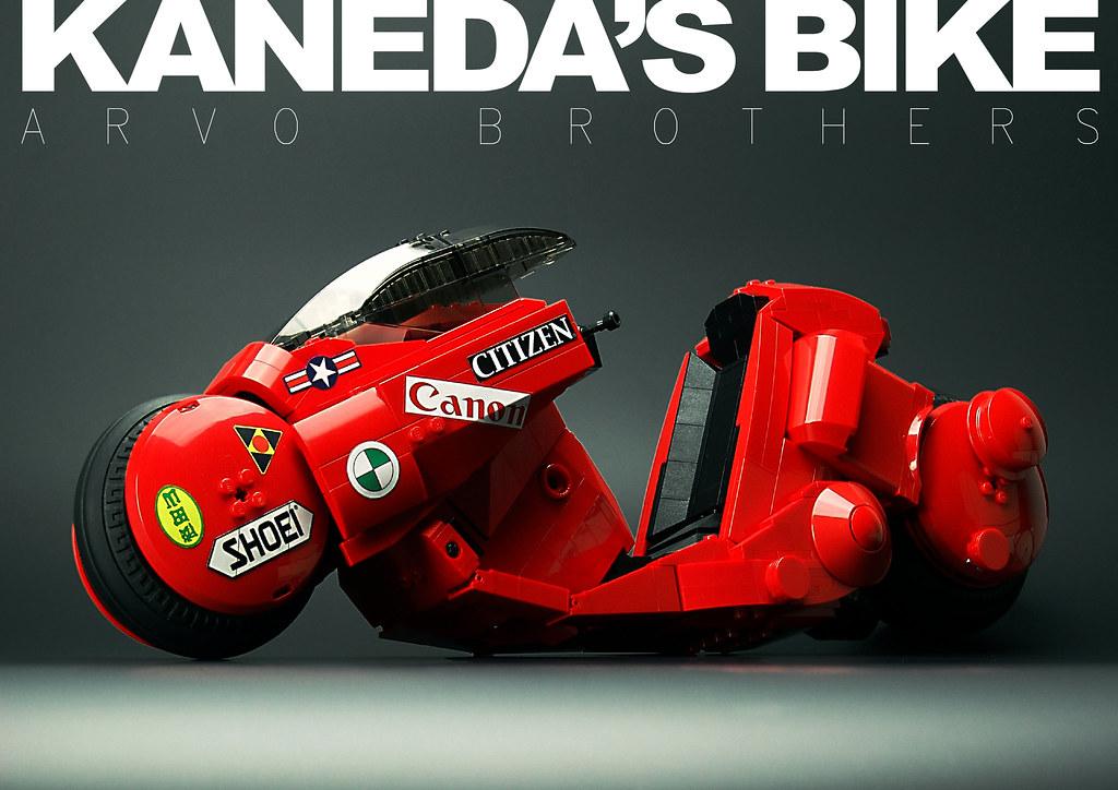Kaneda S Bike The Book Lego Sci Fi Eurobricks Forums