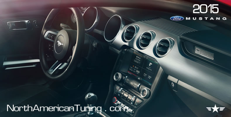 2015 Ford Mustang Unveiling Interior