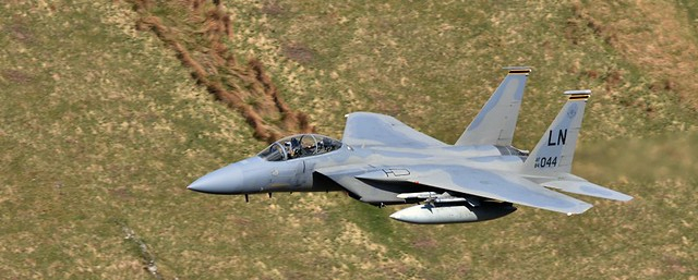 F15 Eagle.Mach Loop.Wales