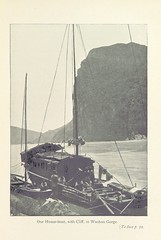 """British Library digitised image from page 121 of """"Through the Yang-tse Gorges ... Third and revised edition, etc"""""""