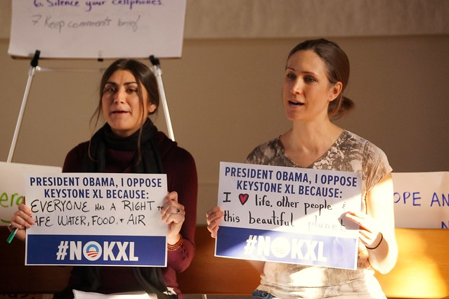 We Oppose Keystone XL