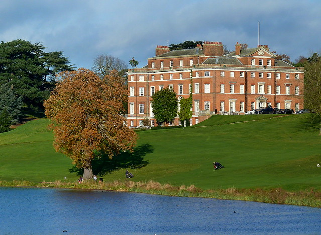 View Across The River Lea to Brocket Hall