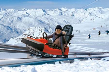 Ve středisku Les Menuires se vyřádíte i bez lyží!