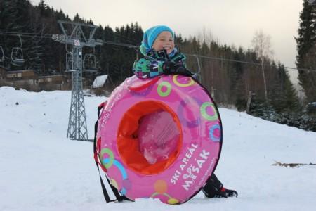 Ski areál Myšák: nová lanovka spuštěna