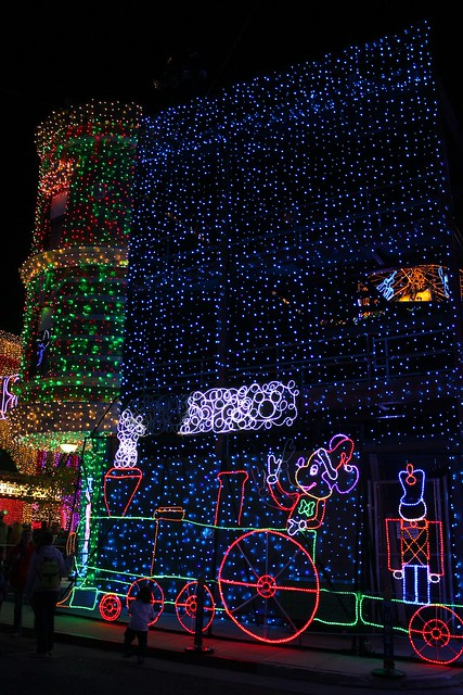 Osborne Spectacle of Dancing Lights 2013 at Disney's Hollywood Studios