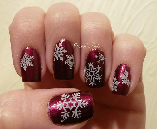 snowflake stamping 2