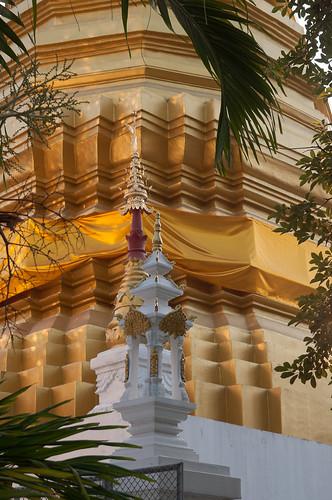 Temple Stupa -- Chiang Mai