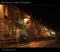 Castleton lights, Derbyshire