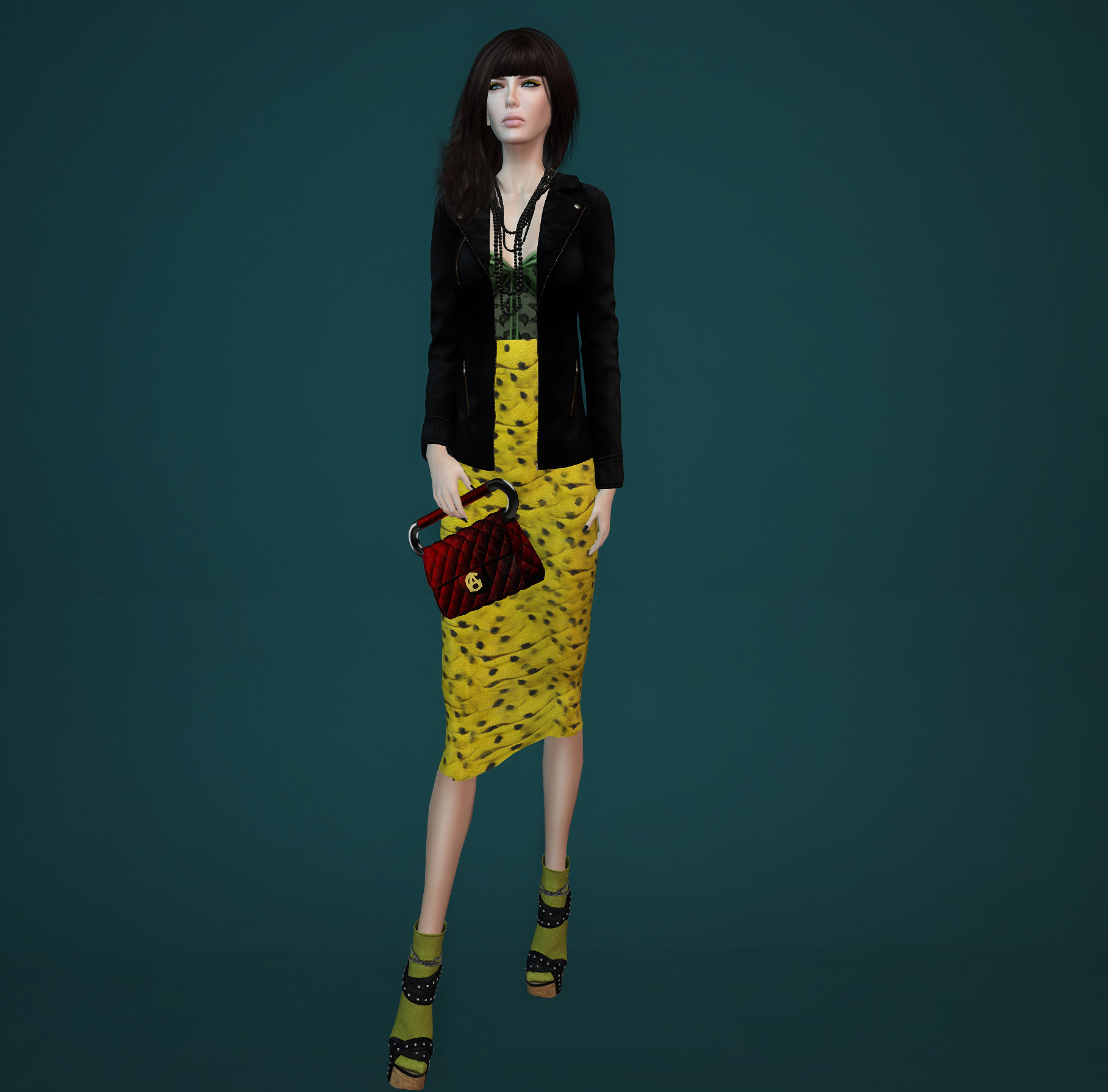 green & yellow - Vero Modero