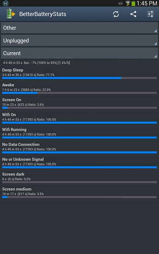 Better Battery Stats Galaxy Note 8