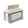 SCA 2297327 Tork Dispenser for Napkins Xpressnap Tabletop Clear / Granite
