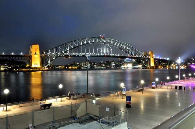 Sydney Opera House and Sydney Bridge