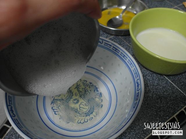 steamed egg white milk pudding recipe 鮮奶燉蛋食谱 (6)