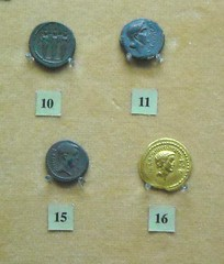 Roman coins - Naples Archaeological Museum