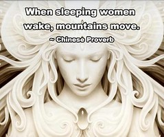 Sleeping Women Awake