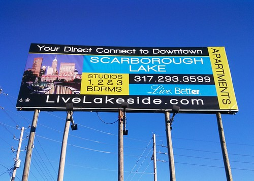 Scarborough Lake Billboard by Redirections Sign & Design