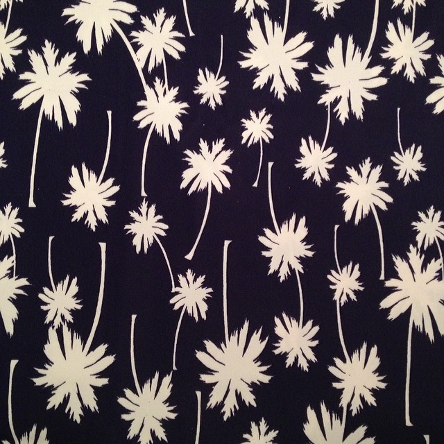 Let's do this, palm tree spandex fabric #sewing #bikini