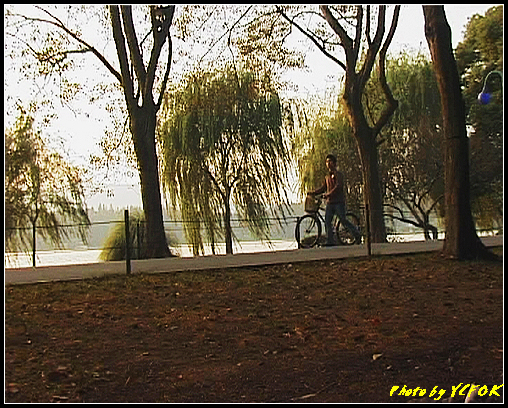 杭州 西湖 (其他景點) - 277 (在西湖十景之 蘇堤 上看西裡湖的黃昏)