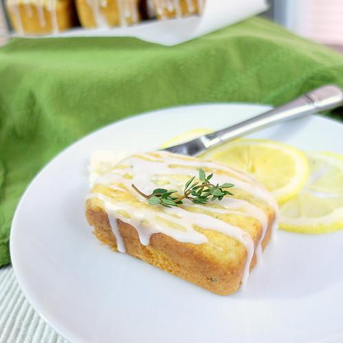 Lemon Thyme Tea Cakes