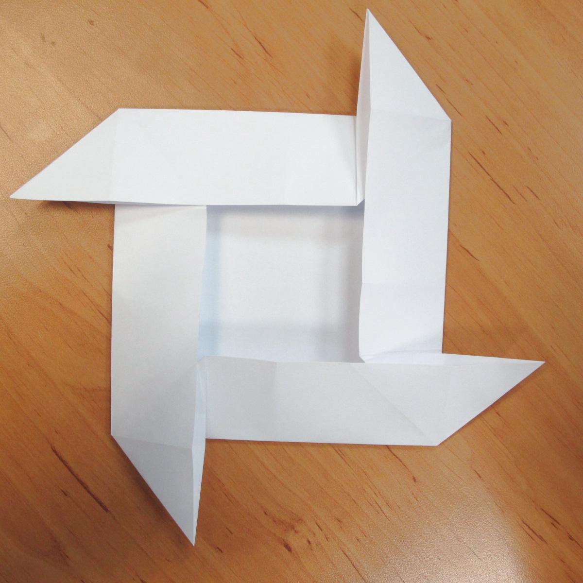 สอนการพับกระดาษเป็นที่ใส่ของรูปกลีบกุหลาบ (Rose box origami) 030