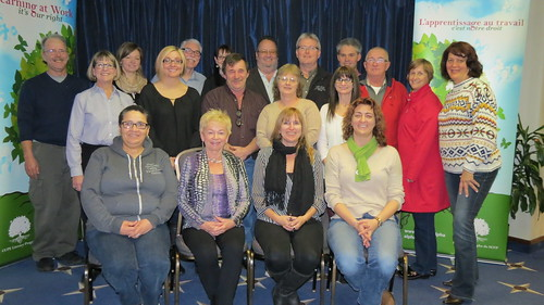 CUPE National Literacy Working Group and the Learners Council meet together in Ottawa -  November 2013