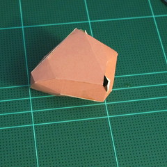 วิธีทำโมเดลกระดาษเรขาคณิตรูปกระต่าย (Rabbit Geometric Papercraft Model) 012