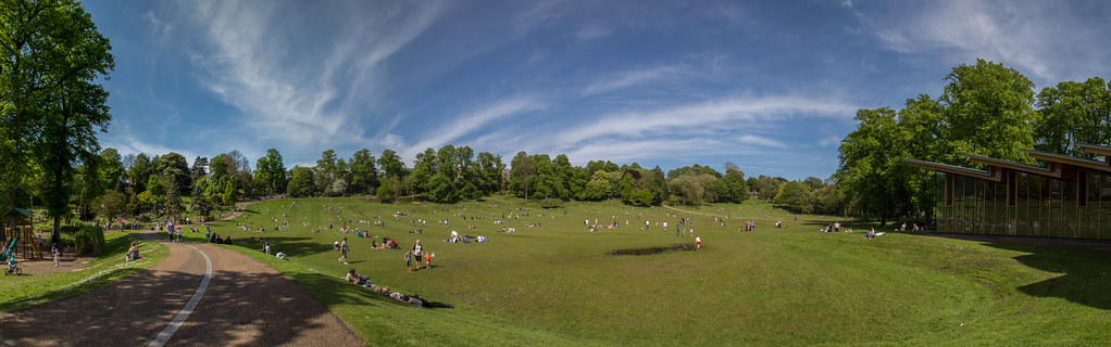 Panorama of Avenham Park taken by Karl Davison