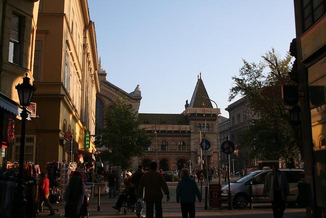 Budapest Photo, near Central Market Hall