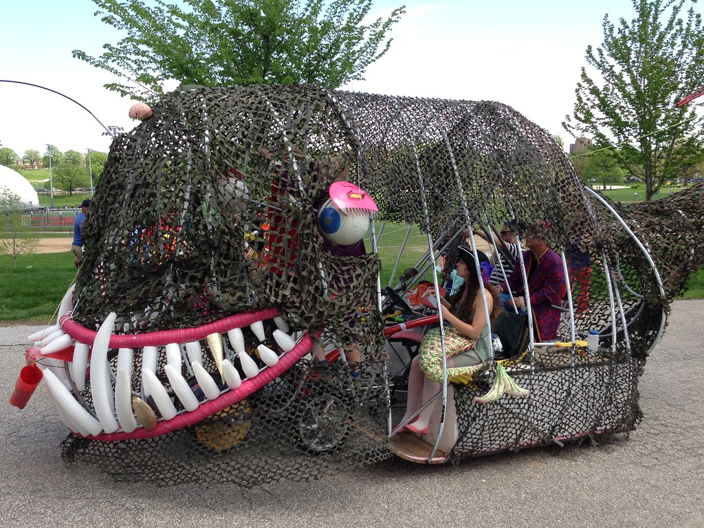 Baltimore Kinetic Sculpture Race (2014)