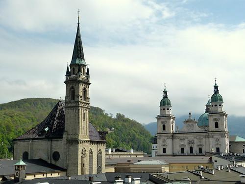 Roofs in Salzburg