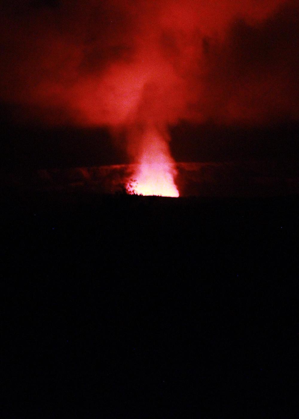 Volcano Glow