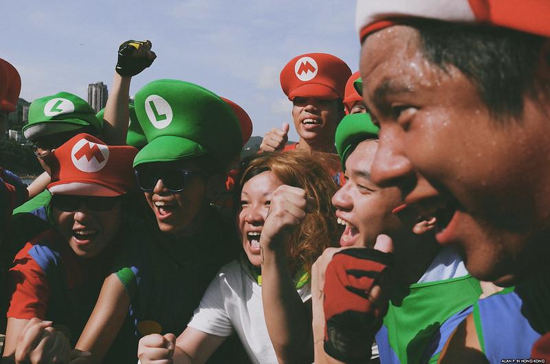Mario Bros Cheering
