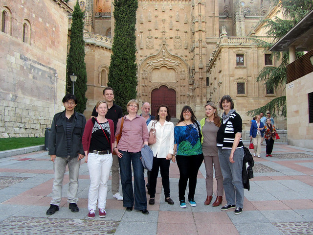 EHISTO Team in Salamanca