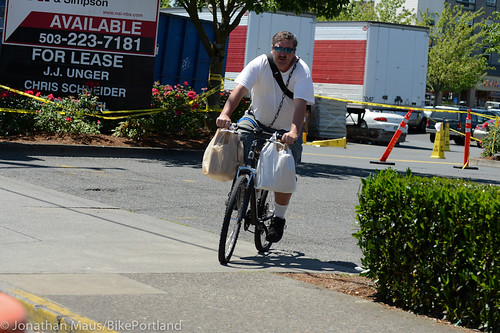 People on Bikes - East Portland-4