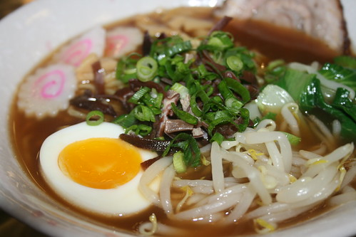 Shoyu Ramen Close up