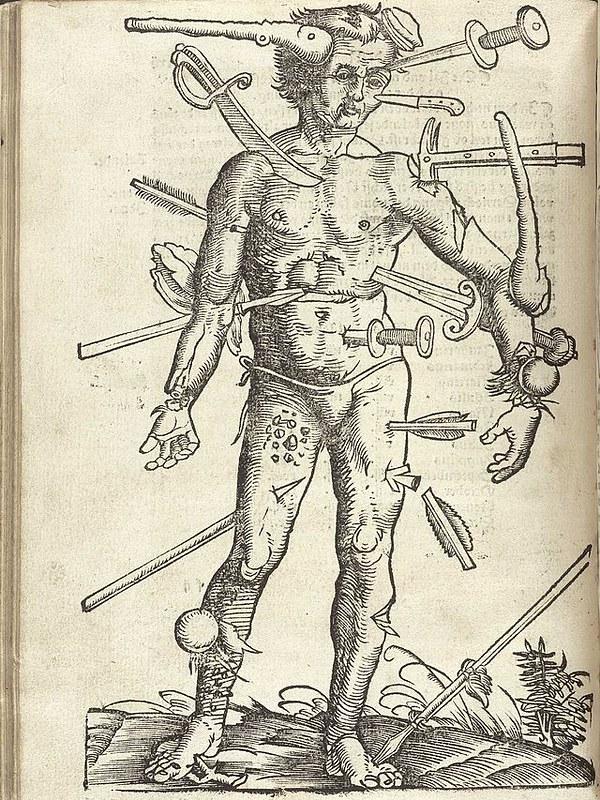 Fogonazos: Anatomía de un hombre herido
