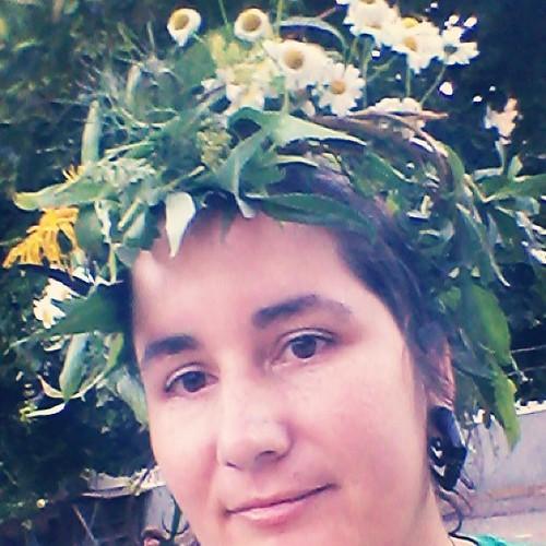 Mutti mit  Blütenkranz. #latergram
