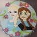Elsa & Anna cake - <span>©CupCakeBite</span>