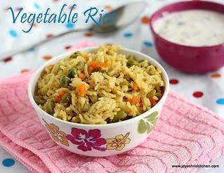 veg rice